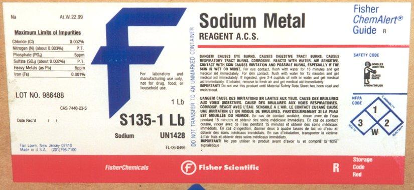Sodium Burn Method